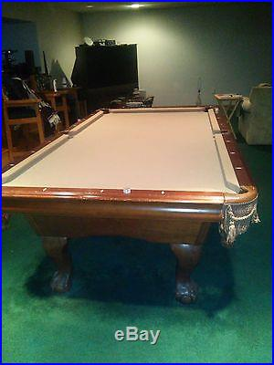 POOL TABLE 4X8 AMERICAN HERITAGE