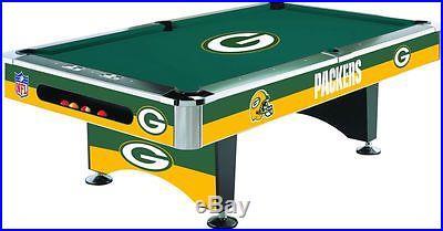 POOL TABLE / BILLIARD TABLE NFL CHARGERS JETS PATRIOTS BILLS RAIDERS PACKERS