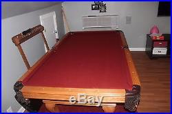 Pearl-Wick Professional 4x8 3 Slate (Italian) Pool Table Billiards
