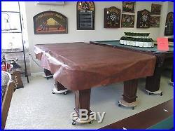 Peter Vitale Worthy Pool table oversized 8 ft