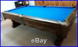 Pinehurst by Brunswick oversized 8 ft. Pool Table