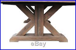 Playcraft Brazos River 8' Slate Pool Table, Weathered Barn