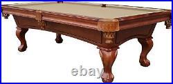 Playcraft Charles River 8' Slate Pool Table, Chestnut