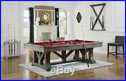 Playcraft Cross Creek 8' Slate Pool Table