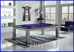 Playcraft Monaco 7' Slate Pool Table with Dining Top