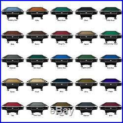 Playcraft Southport Black 8' Pool Table Ball return