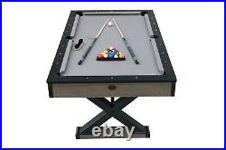 Playcraft Wolf Creek 7' Pool Table with Dining Top