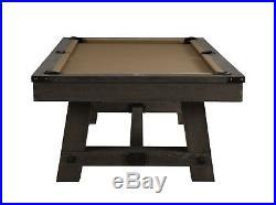 Playcraft Yukon River 8 Slate Pool Table, Weathered Fieldstone