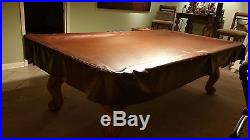 Playmaster Renaissance 3 slate 8ft Oak pool table withaccessories