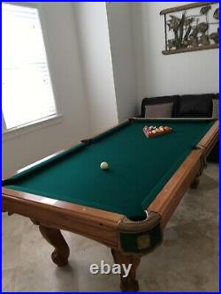 Playmaster Renaissance 7 Ft Oak Pool Table