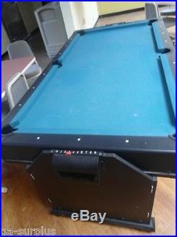 Pool & Air Hockey Game Table (36322-002 PB)