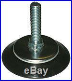 Pool Snooker Billiard Table Parts, Nylon Adjustable Foot, Bolt, T-Nut. 65mm