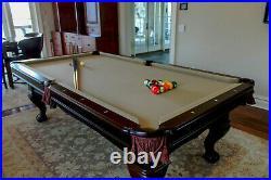 Pool Table 8' Brunswick Billiards Westcott The Game Room Store, Nj Dealer