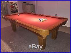Pool Table, 8 Foot (44 x 88). Excellent Condition. No reserve