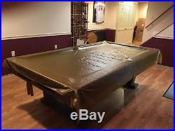 Pool Table 8 foot slate Brunswick Windsor VIP with all accessories