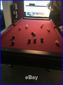 Pool Table 8ft With Cover