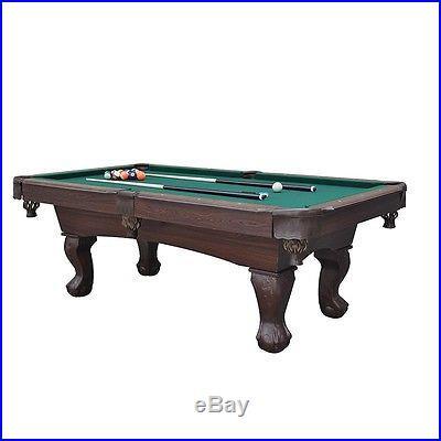 Pool Table Billiards Scratch Resistant Sports Rack Balls Chalk Garage Game Room