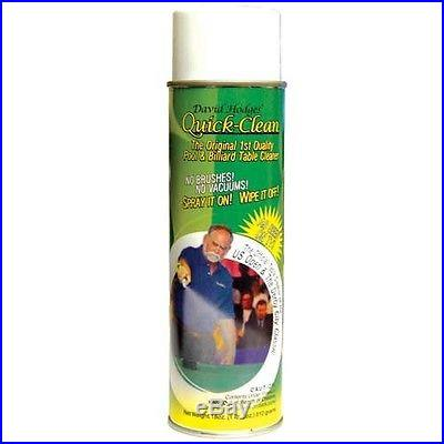 Pool Table Felt Cleaner Quick Clean SHIPS SAME/NEXT DAY GUARANTEED