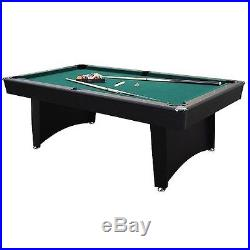 Pool Table Game Room Billiard Balls Cues Table Tennis Top Free Shipping No Tax