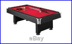Pool Table Games Entertainment Donovon II 8-Foot Slate Billiard