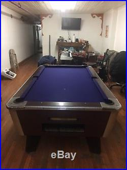 Pool Table Great American Billiards Coin Operated