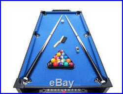 Pool Table Set Small For Kids Air Hockey 2 In 1 Indoor Billiards Sports Game Rec