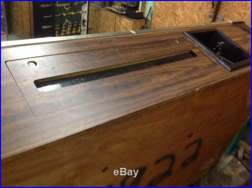 Pool Table Slate 4x8 Coin Operated Billiard Table