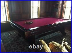 Pool Table Windsor Authentic Est Brunswick 1845 American