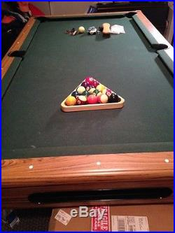 Pool Table with accessories Very Good Condition Imperial International Inc