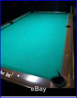 Pool table 9ft gold crown 3