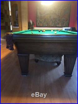 Pool table Charles Porter