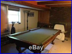 Pool table- brunswick tremont 3 years old 8 ft