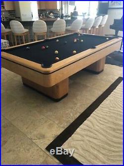 Pool table custom made regulation size