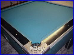 Pool table one inch slate top game room in good condition