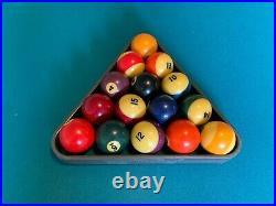Pool table, (original felt, owner's manual, balls) Brunswick, great condition