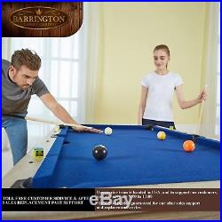Portable 5 Ft Folding Billiard Pool Table with Cue Set And Accessory Kit Balls