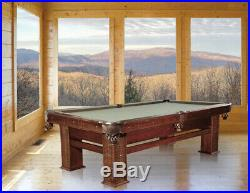 Presidential Billiards Legend Pool Table 8' with Mocha Finish FREE Shipping