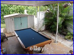 Professional 8 ft. ASPEN Classic Oak wood Pool Billiard Table