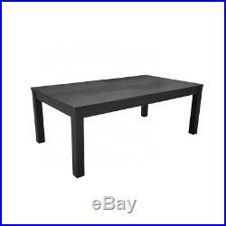 Purelight 7' Titanium Billiard Pool Table Dining Top Combo