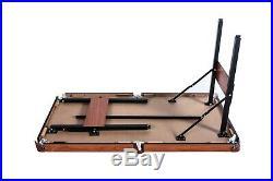 RACK Crux Folding 55 in Billiard/Pool Table (Blue)