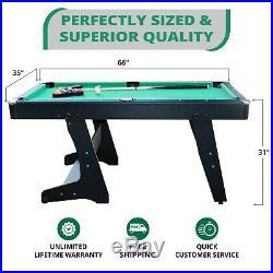 RACK Drogon 5.5-Foot Folding Billiard/Pool Table