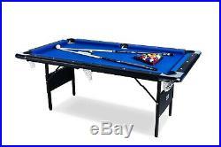 RACK Vega 6-Foot Folding Billiard/Pool Table