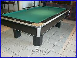 RARE BRUNSWICK Century Supreme Pool Billiards Table, Model #DD