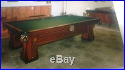 REDUCED Brunswick balke collender nine foot 1917 pool table