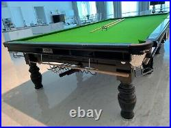 RILEY Snooker Billiard Table Aristocrat Special Edition signed with Accessories
