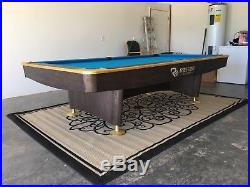 Rasson 9' Challenger Pool Table gently used