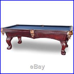 Remy 8' Pool Table with Mahogany Finish and FREE Shipping
