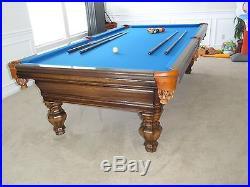 Renaissance Custom Original Classic Georgian 9ft Pool Table