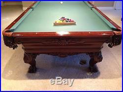 Renaissance custom original pool table by Charles A Porter
