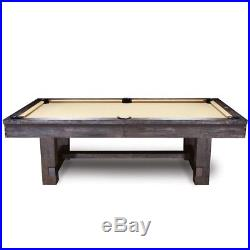 Reno Package 8' Pool Table & 12' Shuffleboard with Rustic Finish and FREE SHIPPING
